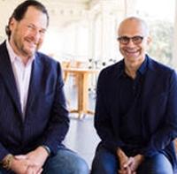 集成更多产品!微软Salesforce扩大合作关系