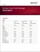 BROCADE博科 Virtual Traffic Manager 性能快速参考