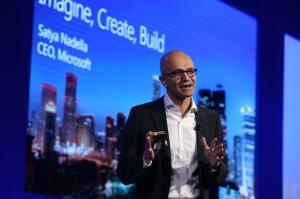 微软CEO纳德拉:中国将从制造中心,发展成智能中心