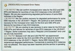 AWS S3宕机暴露Amazon规模级互联网中的致命瓶颈