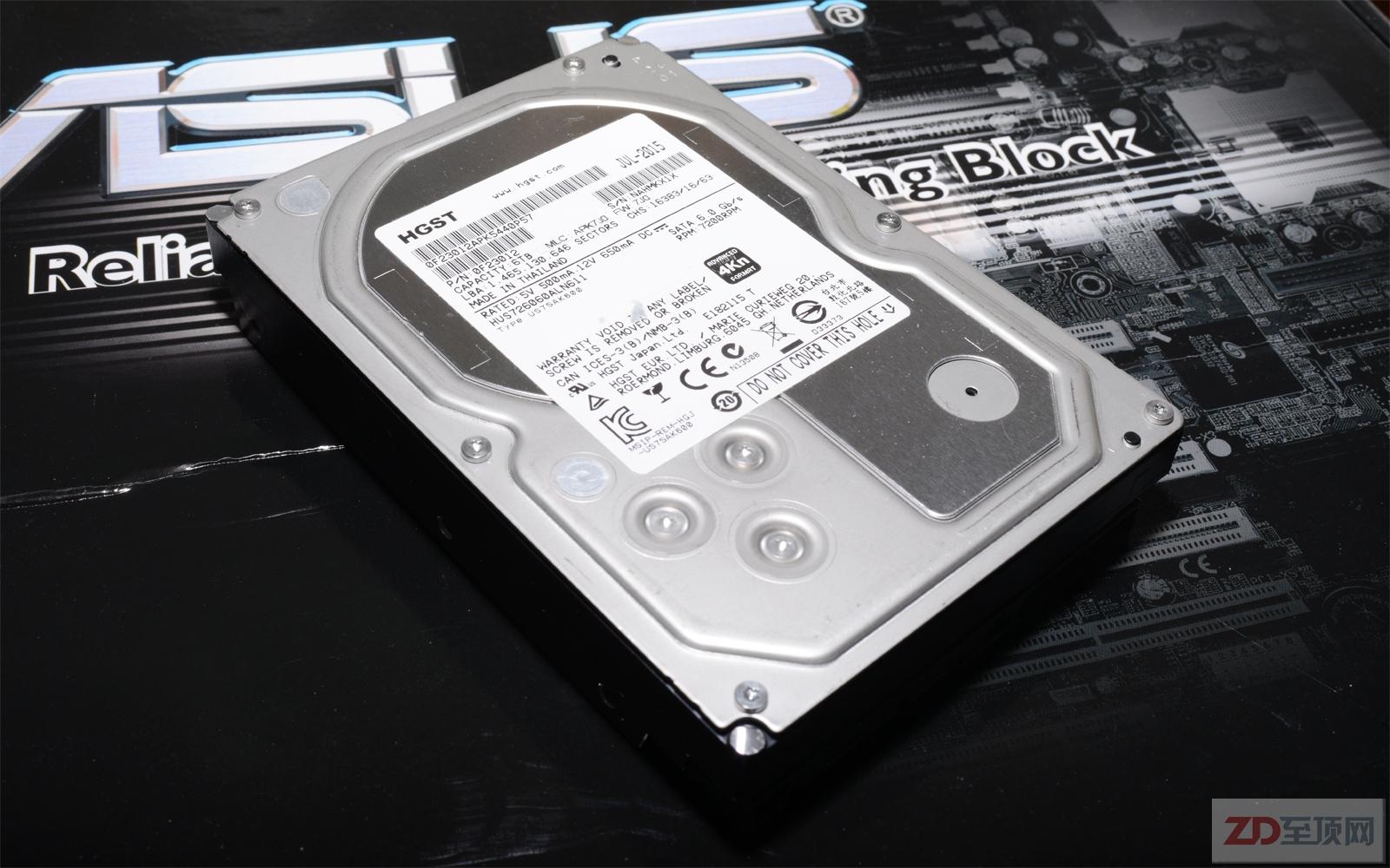 HGST Ultrastar 7K6000企业级硬盘评测