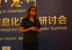 英特尔夏乐蓓:在第三次产业变革中与中国各行业碰触出火花