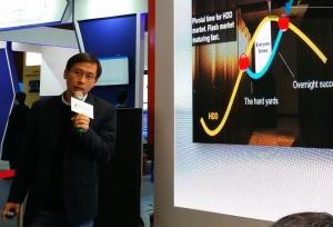 宝存科技阳学仕:独特SSD架构和共享机制实现12.8T大容量闪存卡应用