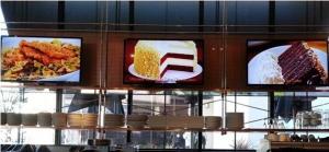 杰和餐饮店数字标牌解决方案  有色相更诱人