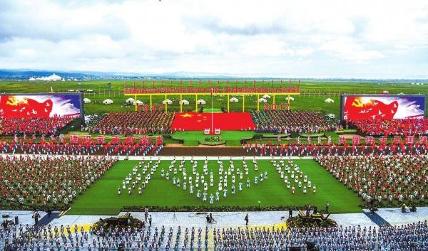 华为eLTE保障内蒙古自治区成立70周年庆祝活动顺利举办