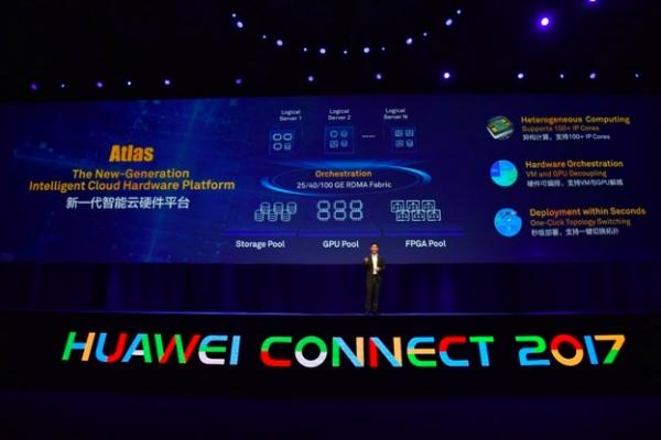 华为发布新一代智能云硬件平台Atlas