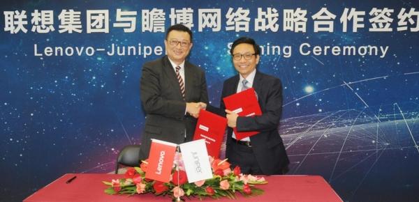 因势利导,联想与Juniper携手推动网络设备国产化