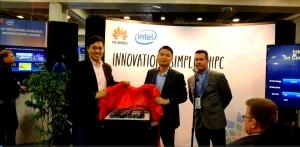 华为在全球超算大会2016发布新一代高性能计算平台