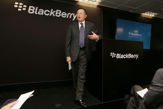黑莓放弃打造自己的手机 将专注于安全与软件