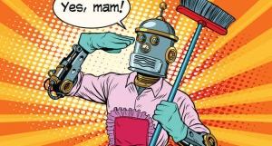 百度通过指令研究开发工智能机器人学习英语