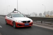 百度无人驾驶车完成路测 最高时速100公里