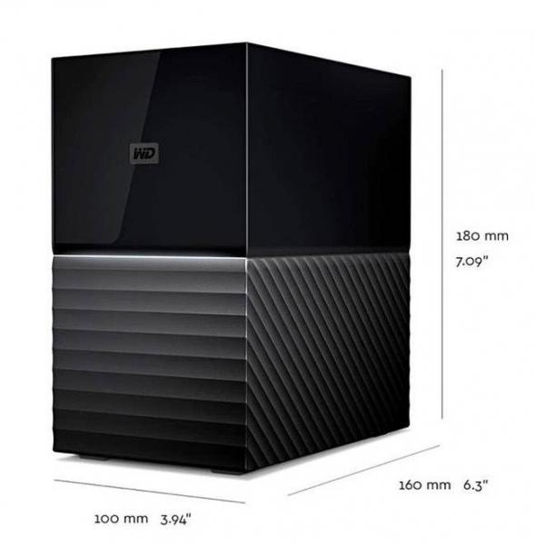 西部数据公司推出20TB外部存储方案