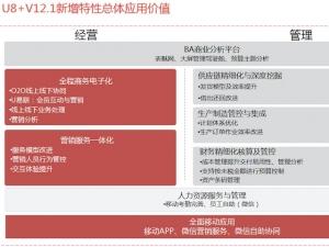 用友优普U8+ 12.1营销+管理突破传统企业管理