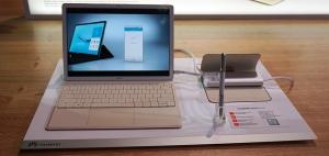 巴展前首日记(一):移动办公设备的全新挑战者 华为MateBook闪亮登场