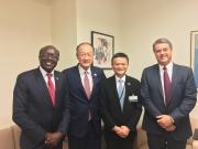 联合国聘任马云做特别顾问:年薪一美金 颁发红色特别通行证