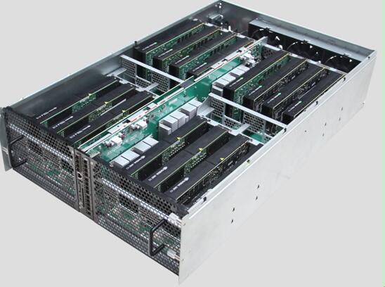 浪潮发布业界最高GPU密度的SR-AI整机柜