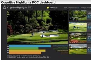 IBM Watson正在学习如何从高尔夫大师赛中找到亮点镜头