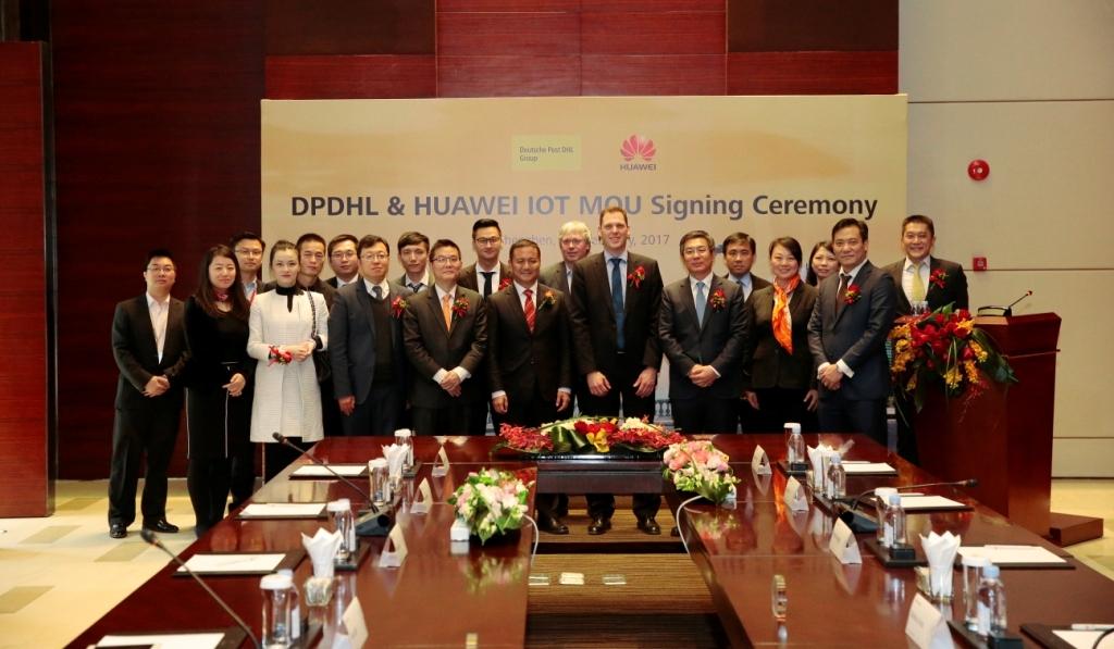 华为与德国邮政DHL开展物联网合作 瞄准1.9万亿美元互联物流市场