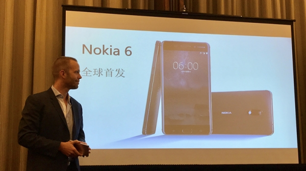 Nokia正式回归:发布首款Android手机Nokia 6