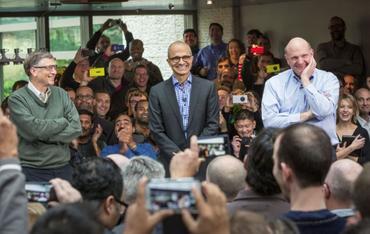 微软CEO纳德拉新书《Hit Refresh》:一场文化革命是否足以让微软焕然一新?