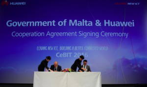 CeBIT 2016:华为举办平安城市全球峰会 签署系列智慧城市合作协议