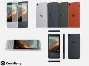 黑莓第二款安卓手机曝光 依然全键盘代号维也纳
