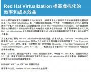 Red Hat Virtualization 提高虚拟化的效率和成本效益