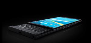 黑莓发布Priv官方谍照 首款Android手机