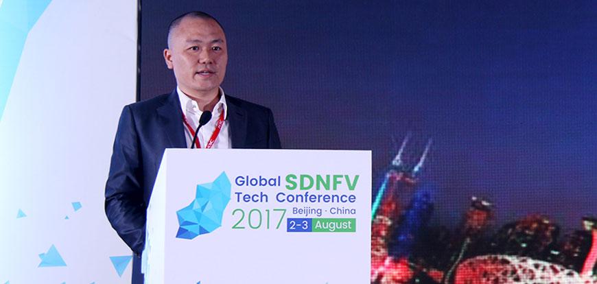 """泰信通创始人刘昱:""""开放 融合 革新""""的方案成就SDN实践之路"""