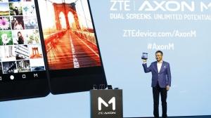 主打折叠双屏智能手机 中兴天机Axon M发布