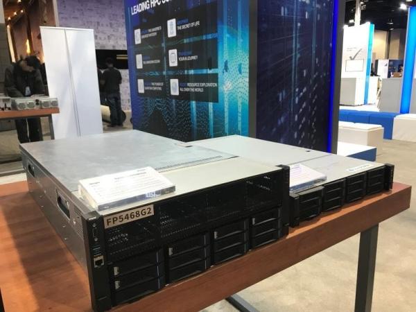 浪潮商用机器参加SC19 推出首款超强异构计算服务器FP5468G2