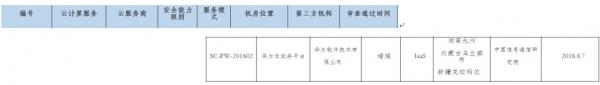 构筑政务云安全堡垒 华为云政务平台通过中央网信办网络安全审查