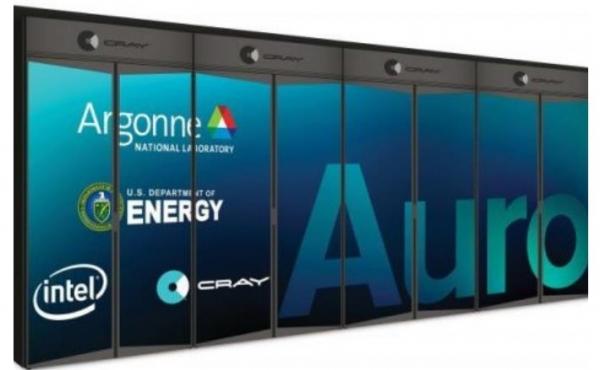 美国能源部联手英特尔打造首个百亿亿次级超级计算机Aurora