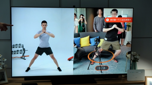"""华为推出65寸智慧屏产品 打造以大屏为中心的""""新一代""""客厅娱乐平台"""