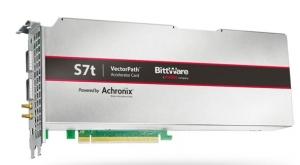 Achronix和BittWare�合推出PCIe���加速卡,�M足高性能高�����用需求