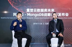 得到阿里云全力支持,MongoDB迎来充满希望的2020