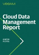 Veeam 云数据管理报告