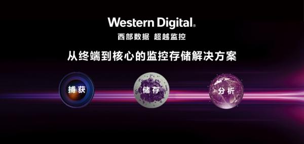 从最新发布产品看,西数已经形成视频监控领域的端到端智能方案