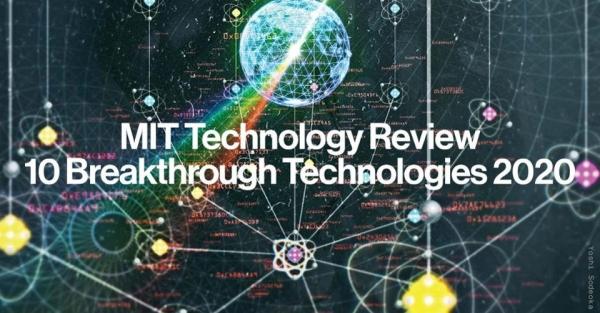 麻省理工学院提名2020年十大突破性技术