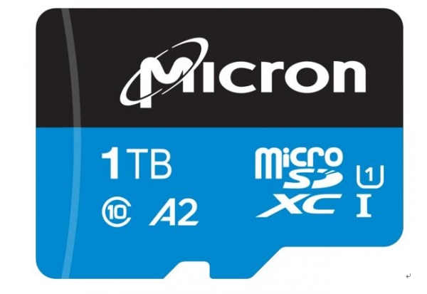 美光率先推出1TB 工业级 microSD 卡,适用于云端视频监控