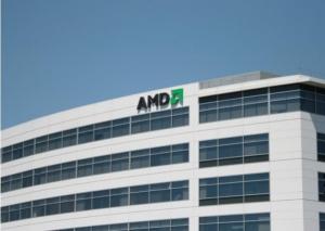 AMD公布第二季度��� �算和�D形芯片�I�障禄�13%