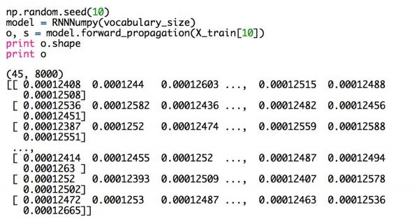 RNN系列教程之二 | 在Python和Theano框架下实现RNN