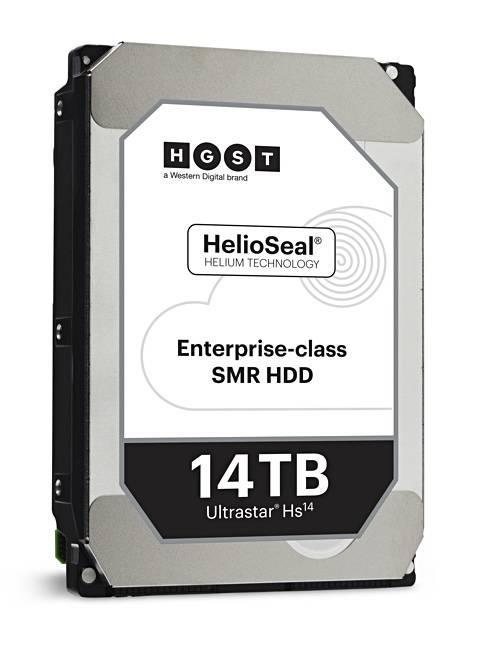 西数全新14 TB磁盘采用叠瓦式写入模式