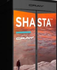 Cray宣布推出��槠�I�O�的Shasta超��算�C