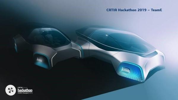 2019大中华区CATIA Hackathon设计大赛 重回大师时代