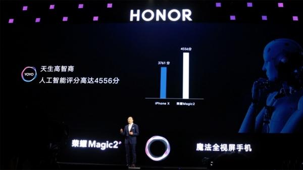 """搭载""""智慧生命体YOYO""""的荣耀Magic2 做更懂你的AI智能手机"""