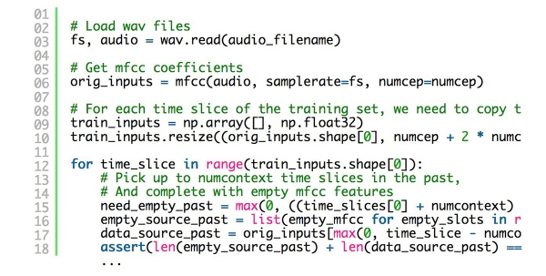 Google重返之际,先来熟悉一下如何借助TensorFlow训练语音识别的RNN