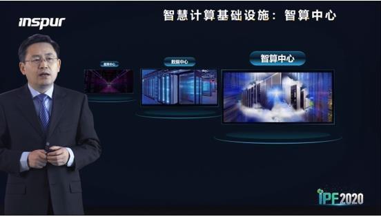 浪潮王恩东:智算中心是智慧时代的新基建