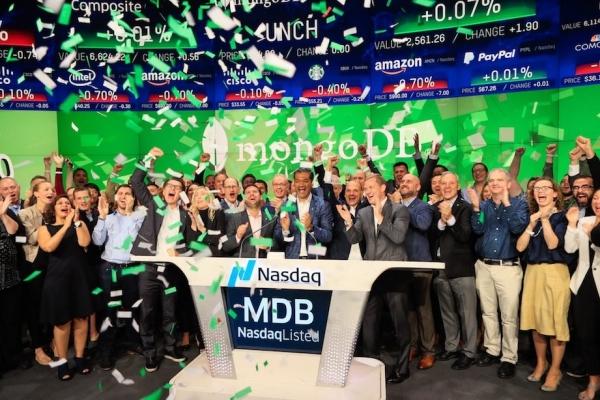 MongoDB股价上市首日飙升34%