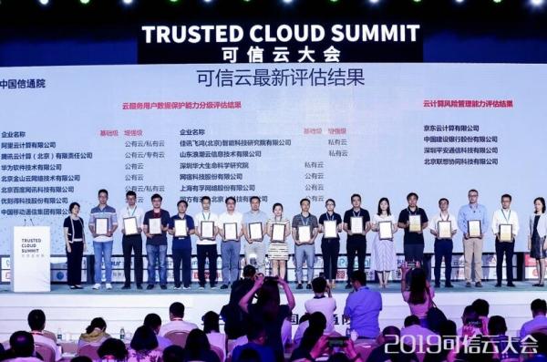 平安云获可信云5项认证,通过最高标准金融云评估